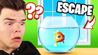 Escaping My Aquarium in I Am Fish...