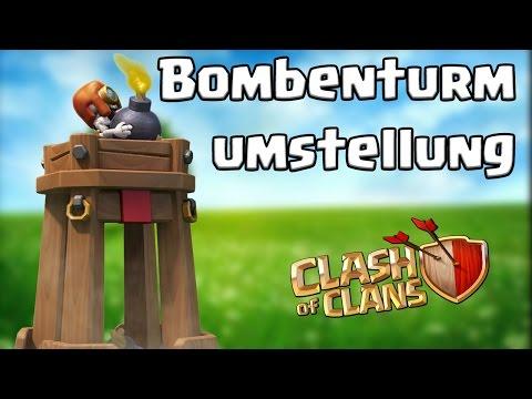 Bombenturm Umstellung  [Clash Of Clans ] DEUTSCH