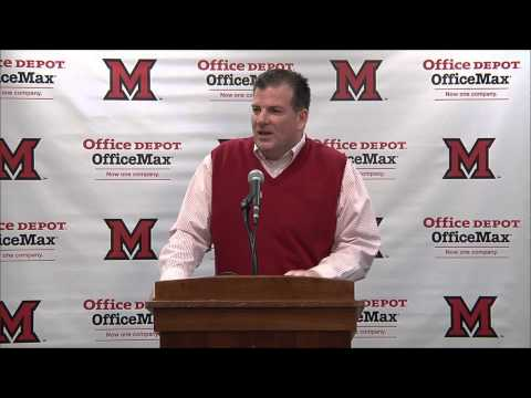 National Letter of Intent Day - Miami RedHawks Football - 2/4/2015