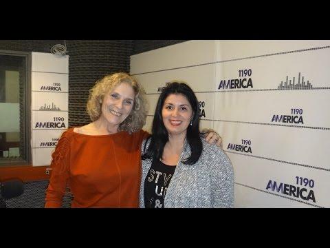 Entrevista Radio America , programa con Voz y Vos de Mabel Traberg .