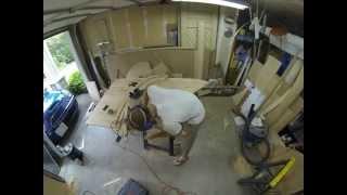 Denizen Teardrop Trailer Build Galley Hatch Ribs