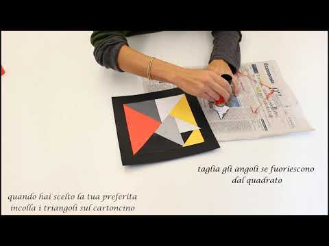Combina le forme come Theo van Doesburg<br><br>Peg...