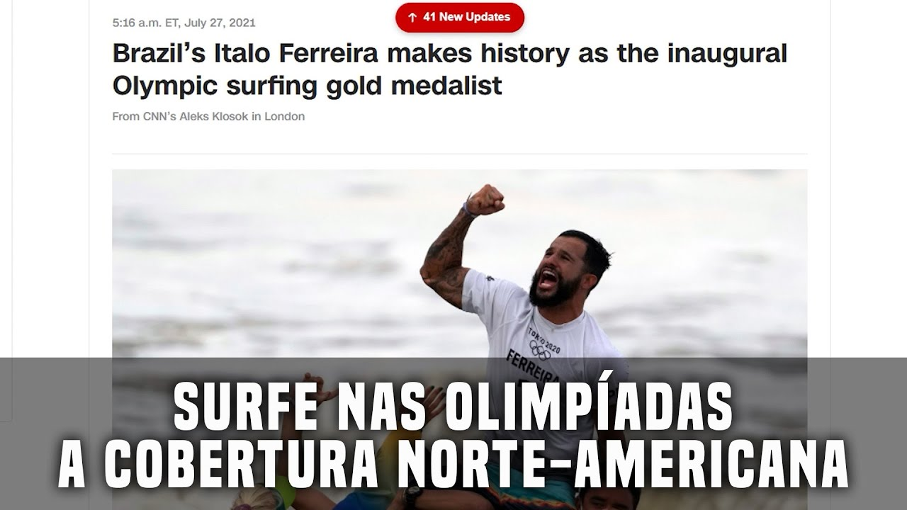Surfe nas Olimpíadas - A cobertura norte-americana #Olimpiadas #Surf