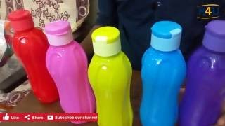 Unboxing and detail review on Cello Aqua Kool water bottles Bottle Set from Amazon.in