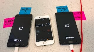 OnePlus 3 vs OnePlus 3T Battery Charge 0-100%