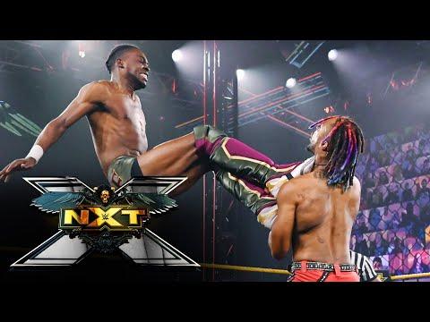 """Leon Ruff vs. Isaiah """"Swerve"""" Scott: WWE NXT, April 13, 2021"""