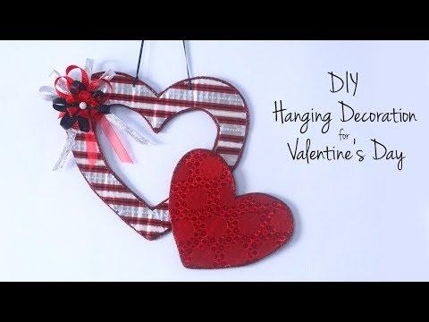 DIY Valentine's Day Gift Ideas | DIY Hanging Decorations | Valentine's Hearts