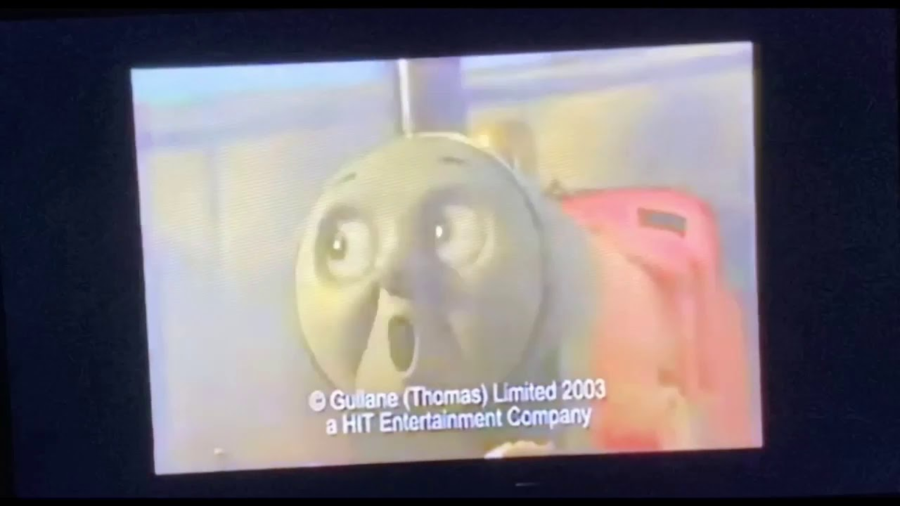 Thomas and Friends Happy Little Engines UK VHS and DVD Advert (2003)