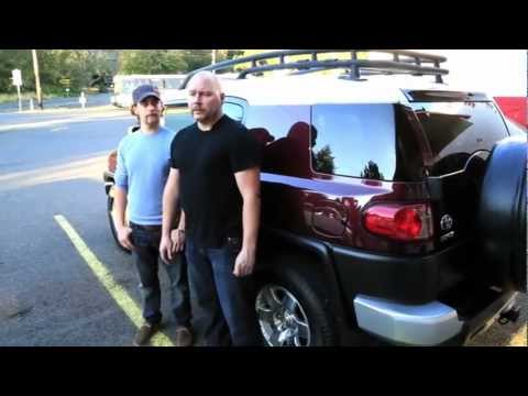 2013 Toyota FJ Cruiser Test Drive and Review by Uptown Market Coalition Brewing and Beaverton Toyota