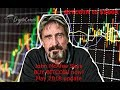 "John McAfee says ""Buy Time"" for bitcoin cryptocurrency as institutional investors rush in."