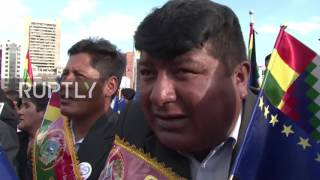 Bolivia: Thousands march in La Paz demanding access to sea in century-long dispute with Chile