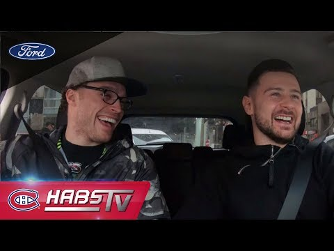 Carpooling with Max Domi and Tomas Tatar
