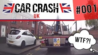 [UK] Bad Driving & Car Crash Compilation #001 MAY 2016