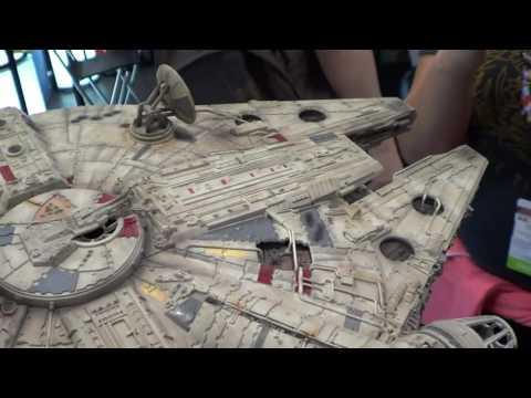 EFX Collectibles Star Wars Millenium Falcon Spaceship at NYCC 2016