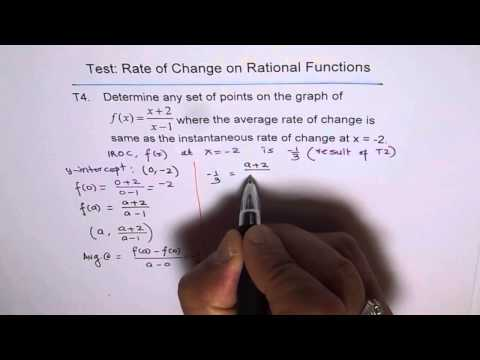 Points With Same Rate of Change Solution T4