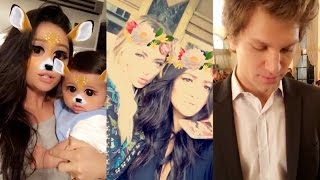 Shay Mitchell with baby on Snapchat | Ft Ashley Benson and Keegan Allen | October 12 2016
