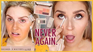GIGI HADID MAYBELLINE COLLECTION  First Impressions... WTF