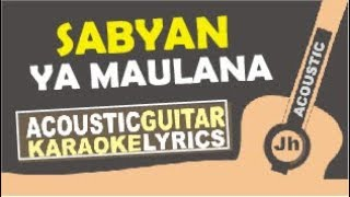 Nisa Sabyan - Ya Maulana (Karaoke Acoustic Cover) Mp3