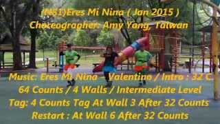 (N81)Eres Mi Nina By Amy Yang (Line Dance)
