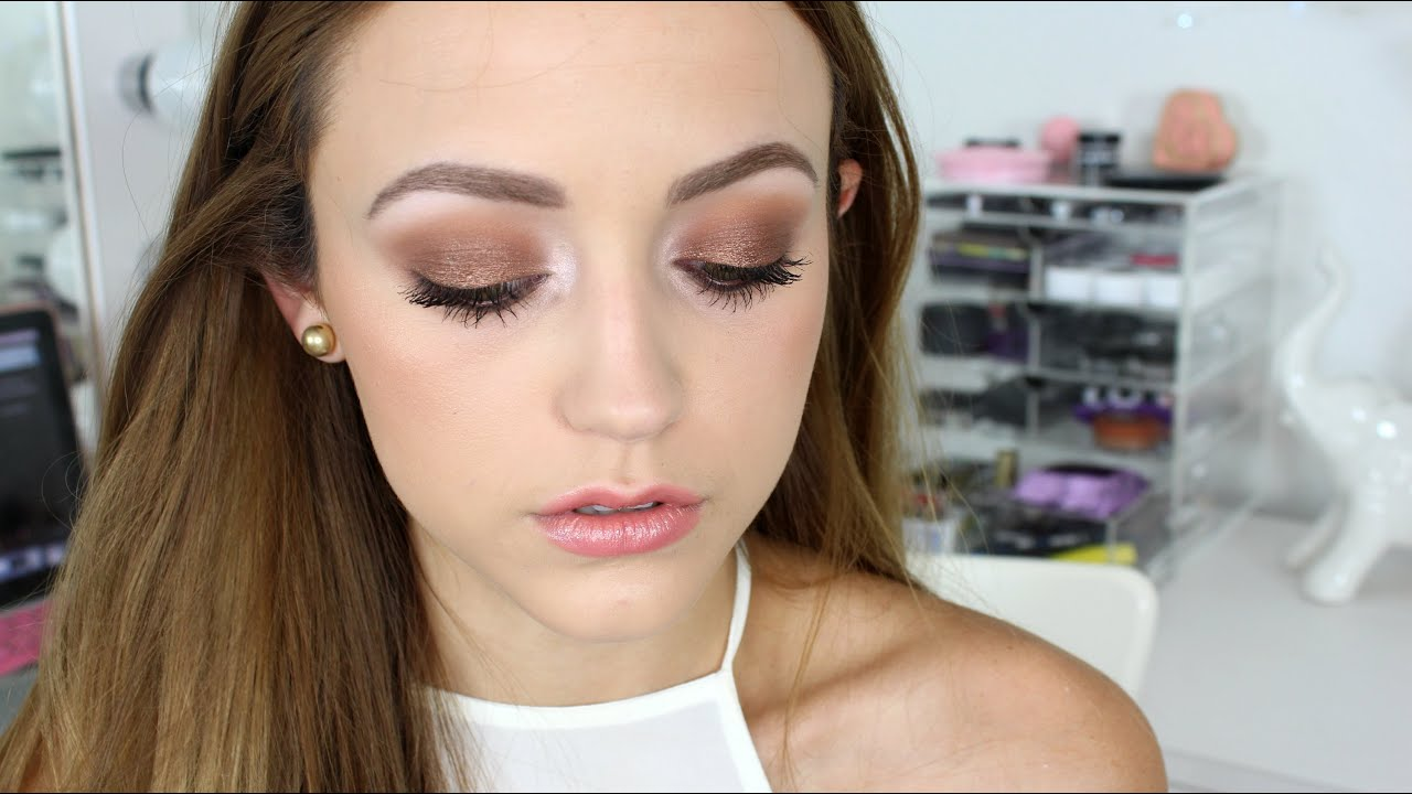 Drugstore Makeup Tutorial | Warm Summer Nights   YouTube