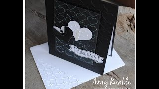 Heat and Stick Powder and Embossing Folder Stamping (ft. Stampin
