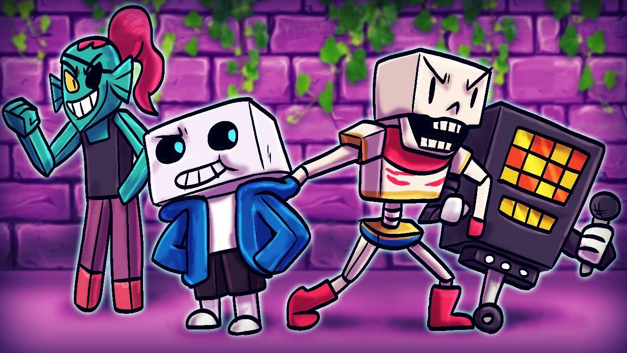 Minecraft   UNDERTALE MYSTERY PUZZLES! Undertale Mod Showcase ...
