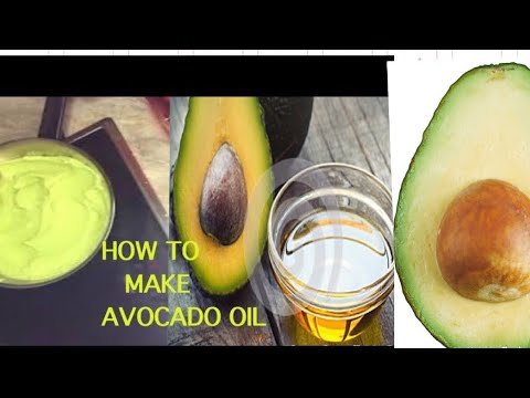 HOW TO MAKE AVOCADO OIL/ DIY ORGANIC AVOCADO OIL/ AVOCADO OIL FOR HAIR GROWTH