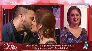 Yo soy del Sur |  El primer beso de amor entre Lida y Álvaro