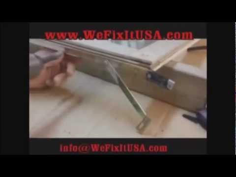 PART 3 Oldach Biltbest Metal Clad Casement Sash Window Frame DIY Door Repair Help