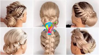 Женские прически Прически на длинные волосы Укладка волос Прически в школу Прически для женщин