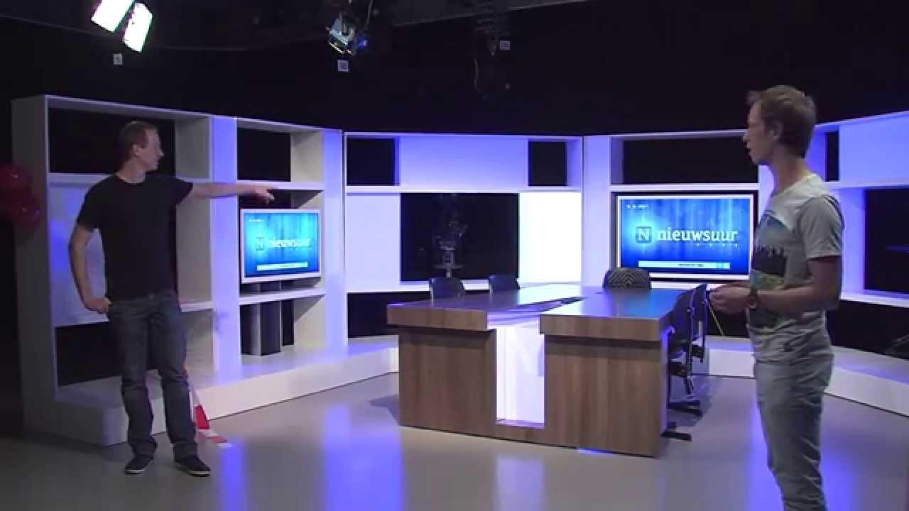 nieuw decor fhj tv studio