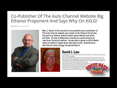 The Auto Channel Talks Ethanol on KXLG Radio