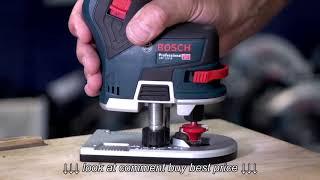 Bosch GKF 12V 8 Brushless Cordless Compact Router Trimmer   Eric Explains