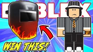 [FREE PRIZE] WICKED WELDER Virtual Item   Roblox Action Series 4 Toy - Car Crusher: Panwellz