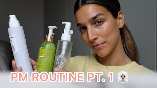 PM routine pt.1 - cleansers, toners, actives.