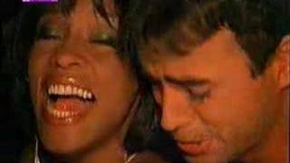Enrique Iglesias & Whitney Houston - Could I have this kiss forever!