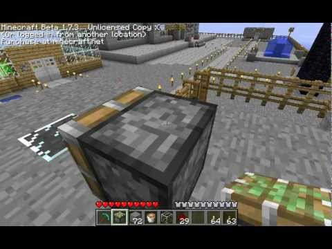 tuto minecraft comment faire une lampe lave youtube. Black Bedroom Furniture Sets. Home Design Ideas