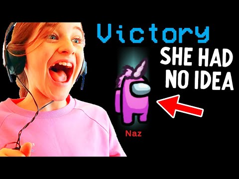 WE HELPED NAZ WIN AS IMPOSTOR (and she never knew...)