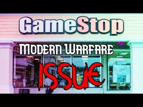 Modern Warfare Gamestop Pre-order Issue