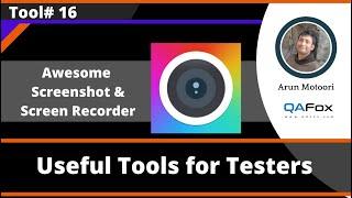 Awesome Screenshot & Screen Recorder Chrome Addon - Useful Tool for Software Testers screenshot 2
