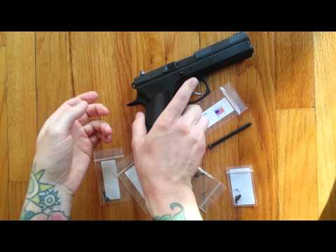 CZ 97B Pistol Upgrades