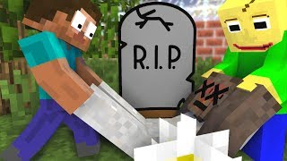 Monster School : RIP Granny HORROR GAME CHALLENGE - Scary Minecraft Animation