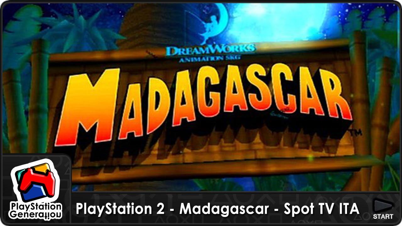 PlayStation 2 Madagascar The Game Spot TV Italia 2005 YouTube