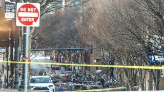 Au lendemain de l'explosion d'un camping-car à Nashville, l'enquête se poursuit