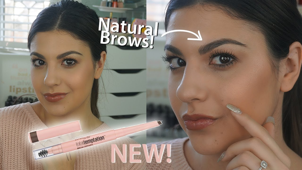 97b24f164ec NEW Maybelline Total Temptation Brow Definer Review and Demo! - YouTube