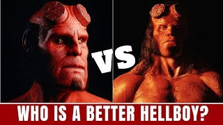 Who is the best Hellboy? Ron Perlman Vs. David Harbour