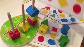 Как научить ребенка собирать пирамидку. Обзор на пирамидки chicco, alatoys, vulpi, игрушки из дерева
