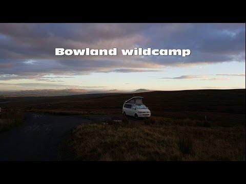 Bowland wildcamp