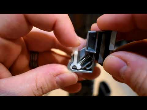 Replacing the power cord on a Dyson Dc41 Animal - YouTube