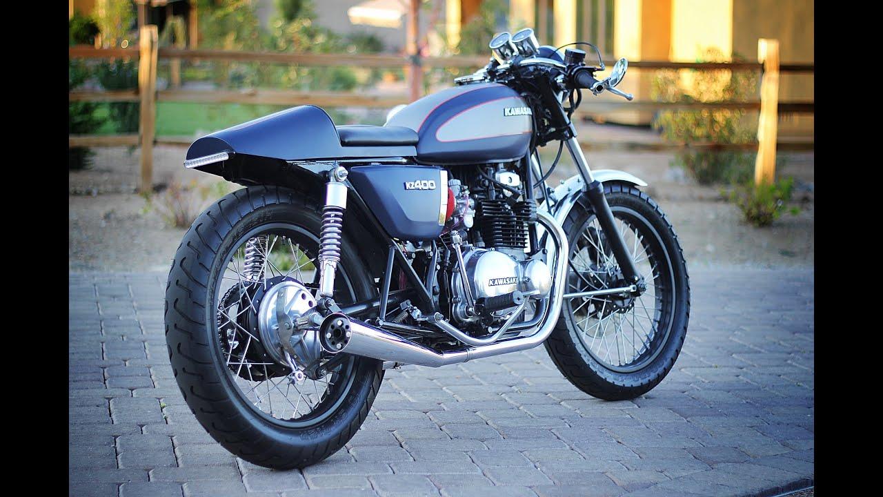 1976 Kawasaki KZ400 Cafe Racer SOLD